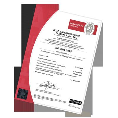 certificato scatolifico